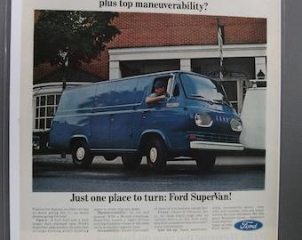 FordT  #110   Ford        Magazine Ad -  Sept. 1966
