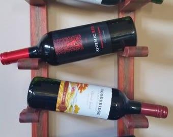 Exotic 4 Bottle Wine Rack
