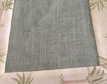 Waverly Tropical Tahiti and Sage  Burlap Rectangle  Green Palm Trees Table Runner by ThemeRunners