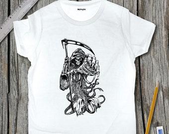 Grim Reaper Sketch T-Shirt | SketchTee