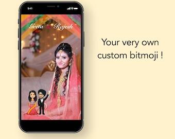 Sikh Hindu wedding custom snapchat filter