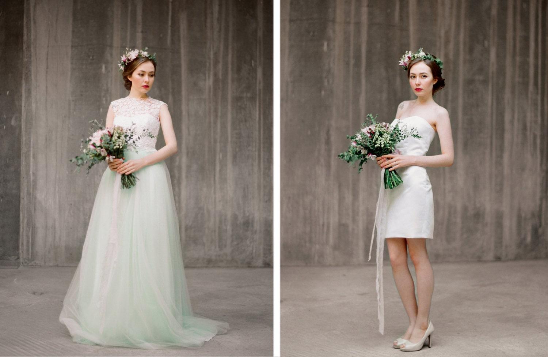 Set of bridal separates convertible wedding dress zoom junglespirit Choice Image