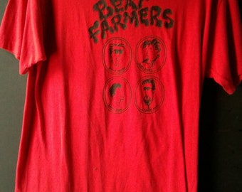 Red Large The Beat Farmers T-shirt