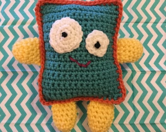 Rudy the Rectangle - Your Fun and Happy Rectangle Pillow Friend