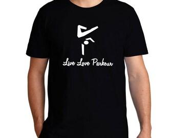 Live Love Parkour T-Shirt