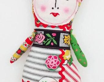 Handmade Art Doll - Lilian