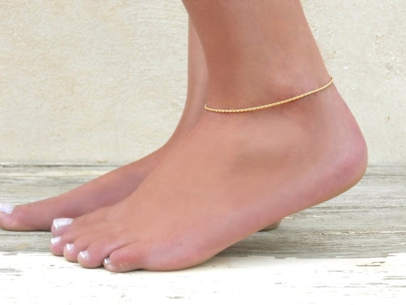 leaf description charms best filled and pin tube by beads bijoux gold annikabella image dainty anklet et inspiration e id
