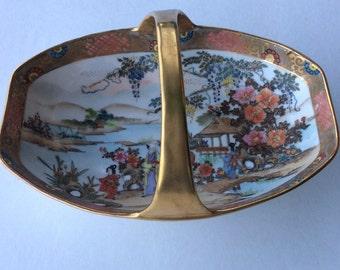 Noritake Japanese Basket Vintage