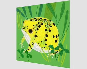 Crucifix Toad Nursery Art