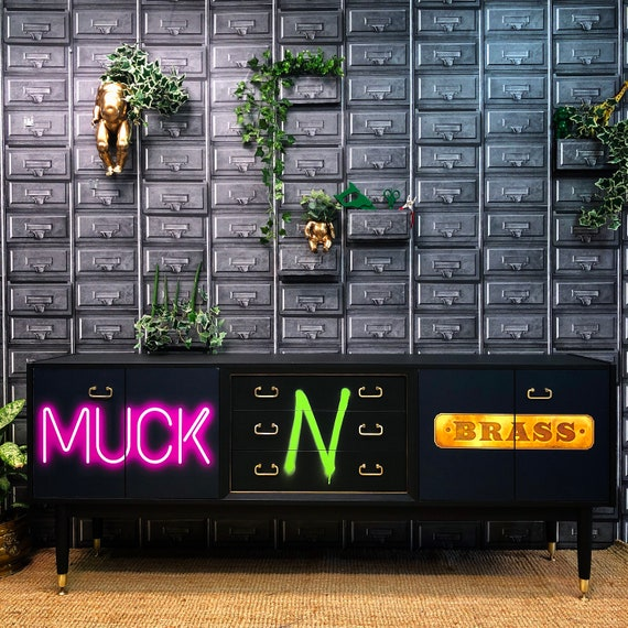 Muck N Brass sideboard