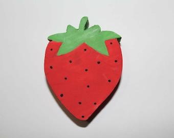 Strawberry chew toy