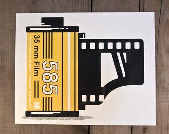 Eastman Film / Handmade Screenprint