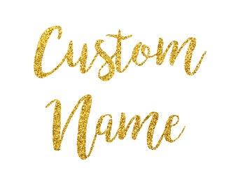 Custom name cake topper/ personalised name cake topper/ cake topper with choice of name