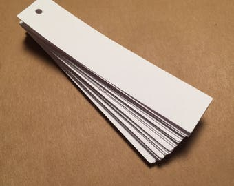 Die Cut, Hang Tags, White Blank Tags, Price Tag, Gift Tag, Retail Tag, Card Stock CP-1010