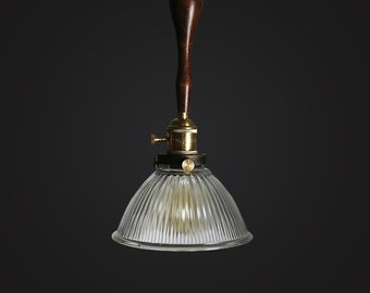 French Style Glass Ceiling Lamp - ceiling - pendant lamp - edison bulb - industrial style - DIY lighting - hanging lamp - Edison bulb lamp