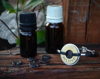 Diffuser bracelet, essential oil jewelry, essential oils diffuser bracelet, choose your word, personalized gift bracelet, washer jewelry