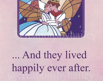 Thumbelina Storybook Happily Ever After Print