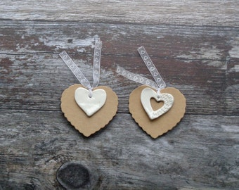 Heart Gift Tag, gift wrapping, Wedding gift, Gift tags,