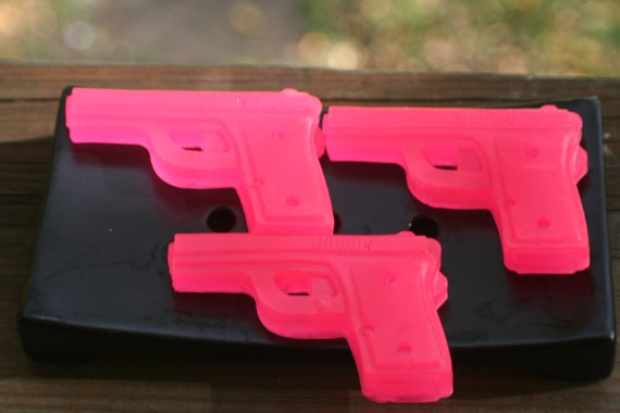 Girls Like Guns Too Glycerin Soap Choose Scent