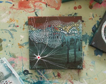 Twenty: Small Abstract Painting