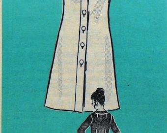 UNCUT Anne Adams 4777 dress, bust 39