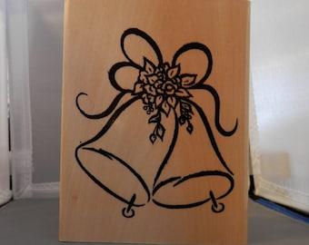 Wedding Bells Rubber Stamp