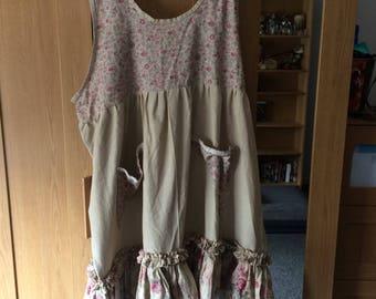 Handmade dress from kit size 22