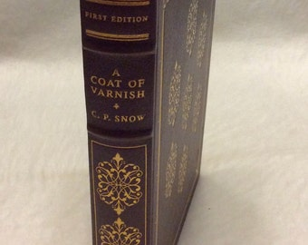 Franklin library first edition limited edition A Coat of Varnish CP Snow 1979 mint