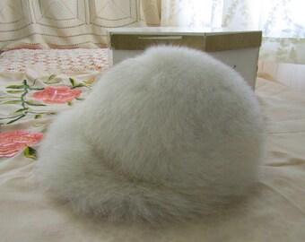 White Fox Fur Hat