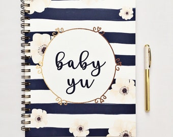 Pregnancy journal, pregnancy diary, pregnancy planner,  pregnancy album, pregnancy tracker, mom to be gift, maternity diary
