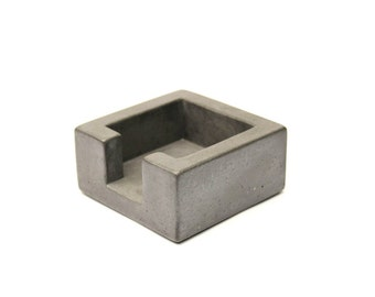 Concrete Post-It Note Holder
