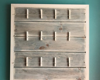 Snapshot Picture Board (Shiplap Style)