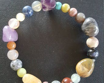 Multi Gemstones Beaded bracelet
