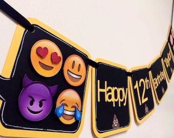 Text Message Emoji Inspired Banner