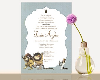 Curious george birthday invitation curious george invitation where the wild things are invitations where the wild things are invitations baby shower filmwisefo Image collections