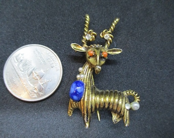 Fabulous Fantastical Beast Brooch Pin