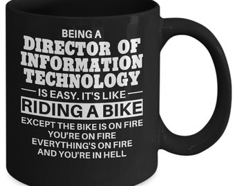Director Of Information Technology Mug, Director Of Information Technology Gift, Director Of Information Technology Coffee Mug, Mug for D...