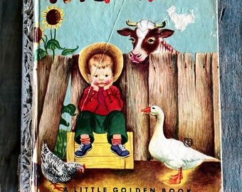 Wiggles 1953 Little Golden Book Illustrated by Eloise Wilkin