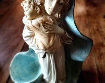 Artigianart Dipinto a Mano Figurine, Artigianart Italy, Religious Art,  Religious Figurine, Virgin Mary