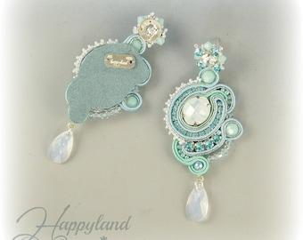 Colazione da ...soutache earrings tutorial step by step