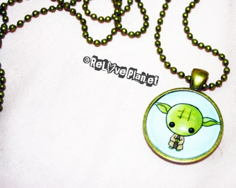 """Cute STAR WARS 1"""" Pendant Necklace - or 2 for 20 - ReLove Plan.et"""