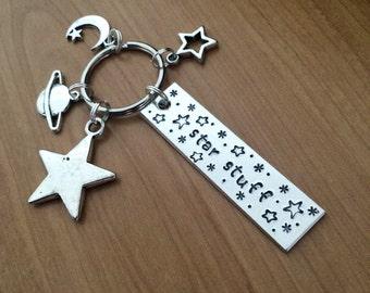 Star Stuff keychain - Carl Sagan inspired