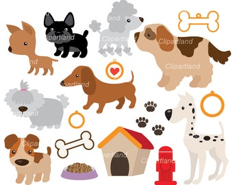 INSTANT DOWNLOAD. Dogs 22. Personal and commercial use.
