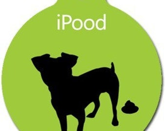 iPood Pet ID Tag - Custom, Metal, Fully Personlized - Higher Quality