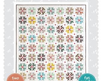 Vintage Flowers Quilt Pattern
