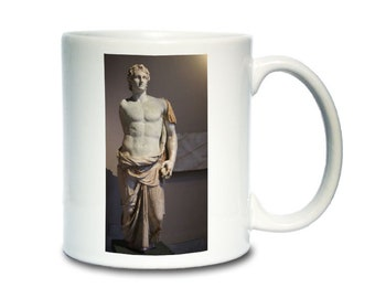 Coffee Mug; Alexander The Great Statue