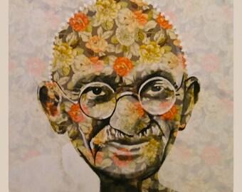 Gandhi Flower Power 32X32