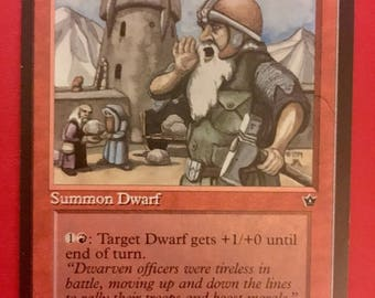 "NEW LISTING! MTG - Lot of Five (5)  Magic the Gathering ""Dwarven Catapult"" Cards - Vintage/Antique"