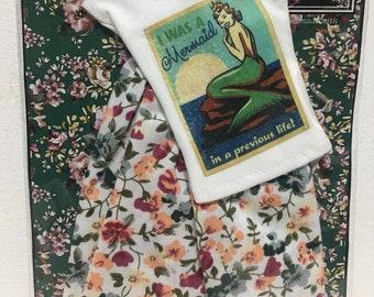 pack t-shirts plus printed skirt for Barbie / poppy parker / 1:6 / blythe