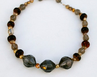 Smoky Quartz Choker